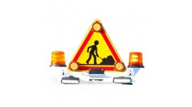 Signalisation pour véhicule de chantier